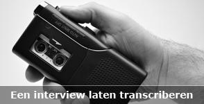 Transcriptie interview