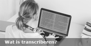 Wat is transcriberen