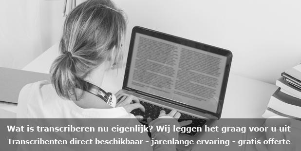 Transcriberen